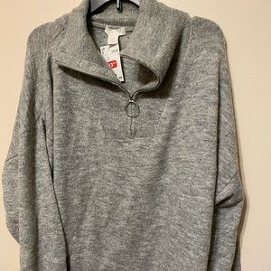 *CLEAR OUT SALE* NWT H&M 1/4 zip